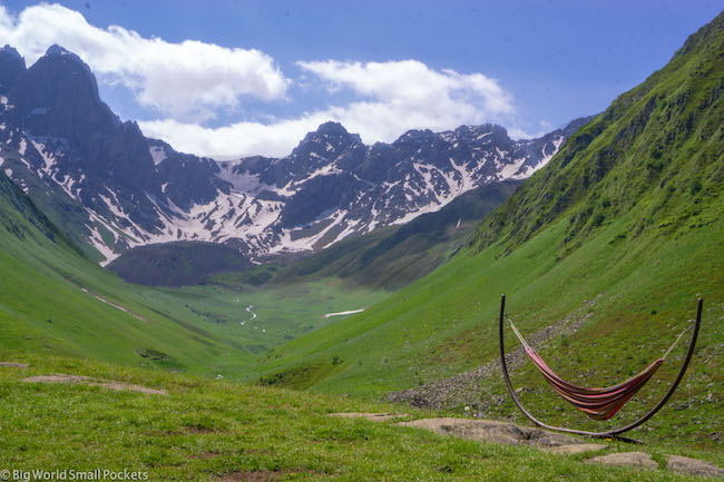 Georgia, Juta Valley, Hammock