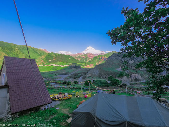 Georgia, Kazbegi, Camp Kuro