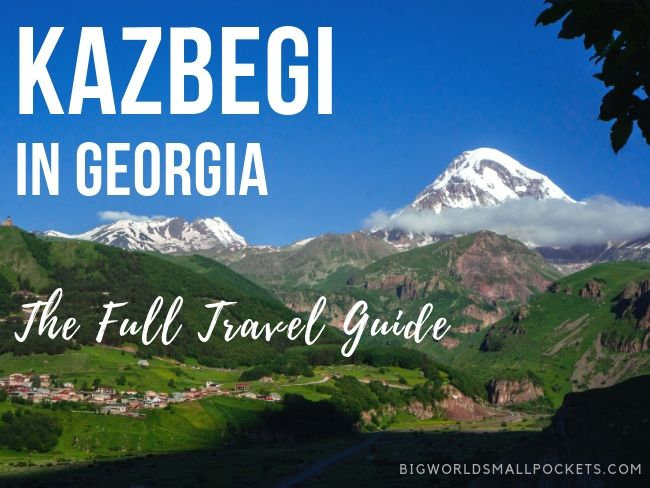 Kazbegi in Georgia