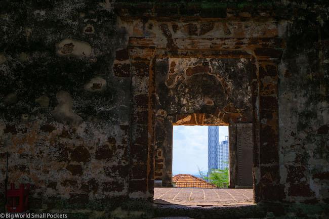 Malaysia, Malacca, Church Door