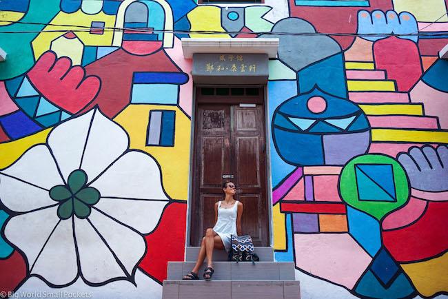 Malaysia, Malacca, Me & Street Art