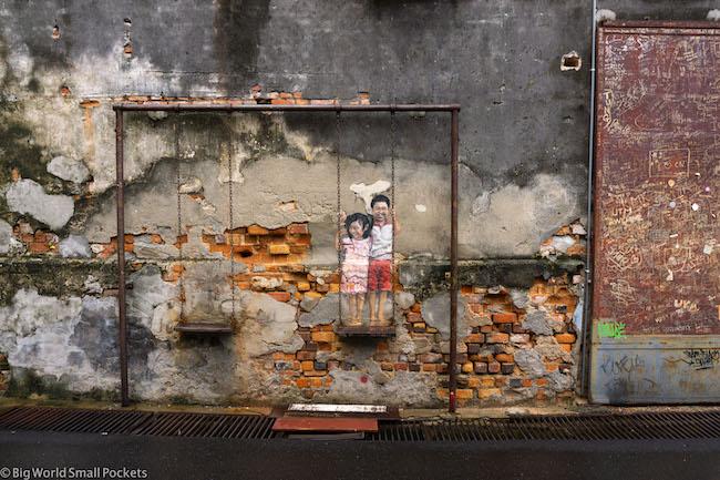 Malaysia, Penang, Georgetown Street Art