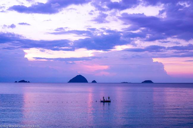 Malaysia, Perhentian Kecil, Sunset