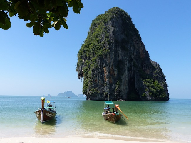 Thailand, Krabi, Beach