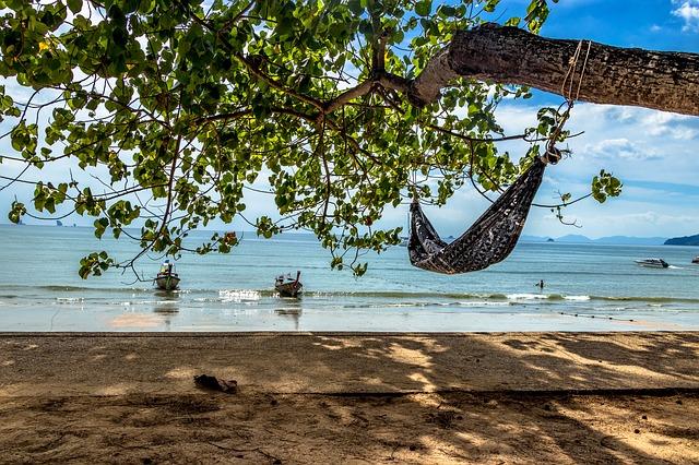 Thailand, Krabi, Hammock