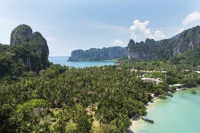 Thailand, Krabi, Railay Beach