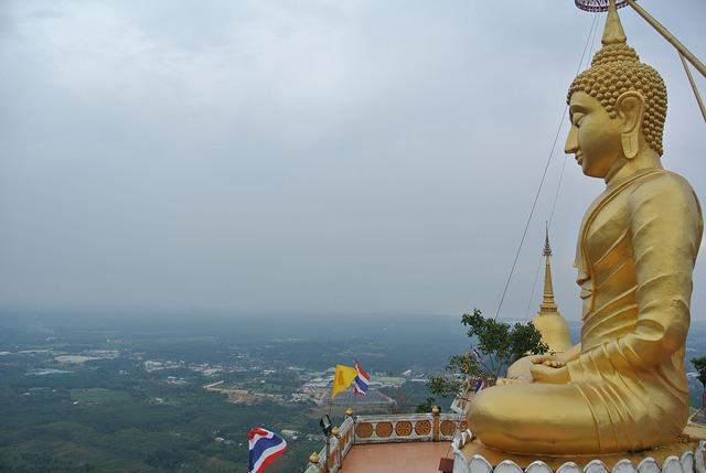 Thailand, Krabi, Tiger Cave Temple