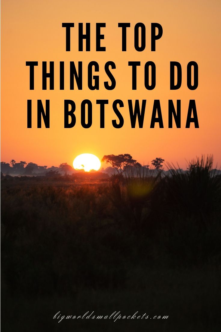 The Top Things to Do in Botswana {Big World Small Pockets}