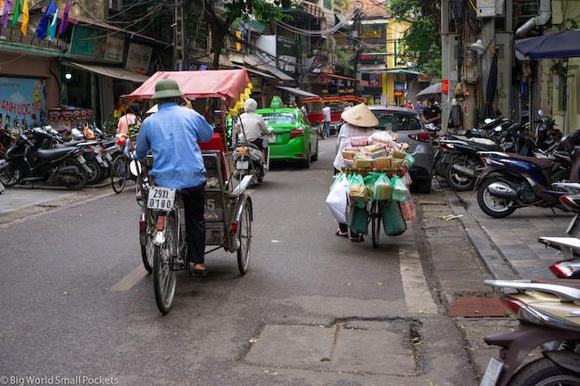 Vietnam, Hanoi, Street Sellers