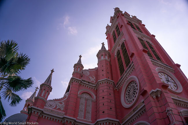 Vietnam, Ho Chi Minh, Pink Cathedral