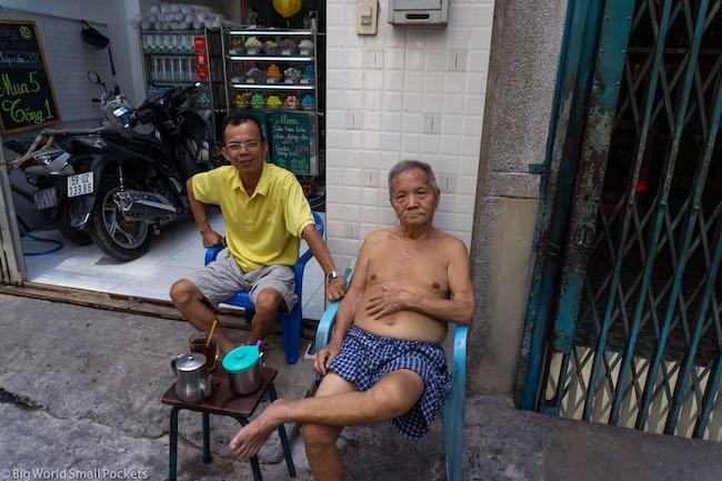Vietnam, Ho Ci Minh, Men
