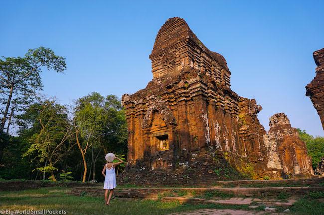 Vietnam, MySon, Me at Ruins