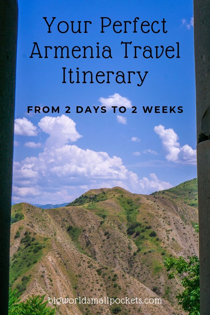 Your Perfect Armenia Travel Itinerary {Big World Small Pockets}