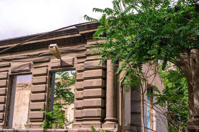 Armenia, Yerevan, Old Ruins