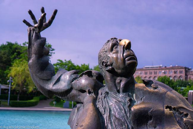 Armenia, Yerevan, Statue