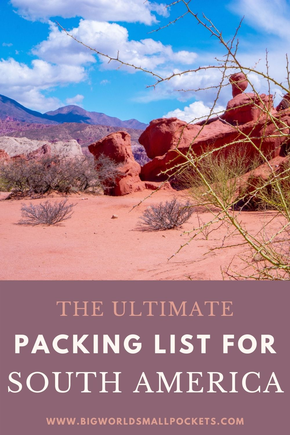Complete South America Packing List