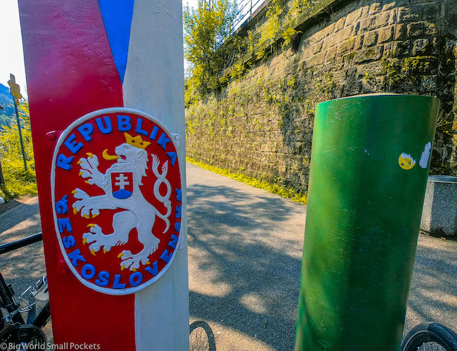Czech Republic, Bohemian Switzerland, Border