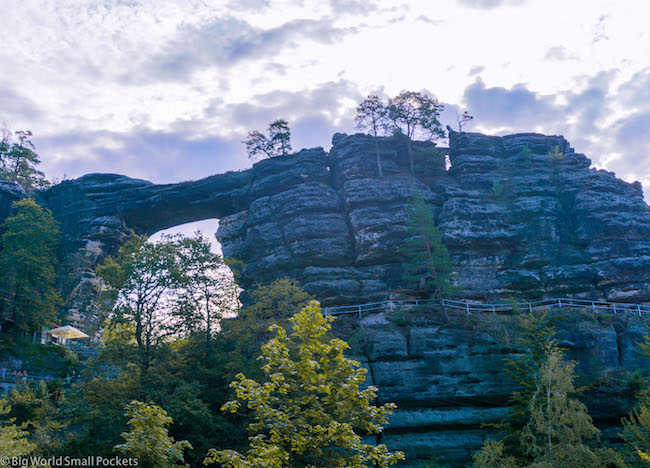 Czech Republic, Bohemian Switzerland, Sandstone Arch