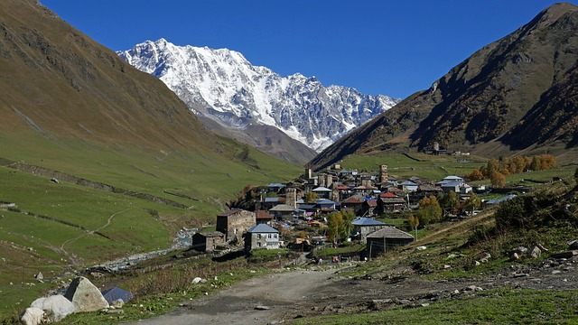 Georgia, Svaneti, Scene