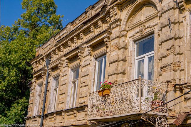 Georgia, Telavi, Building