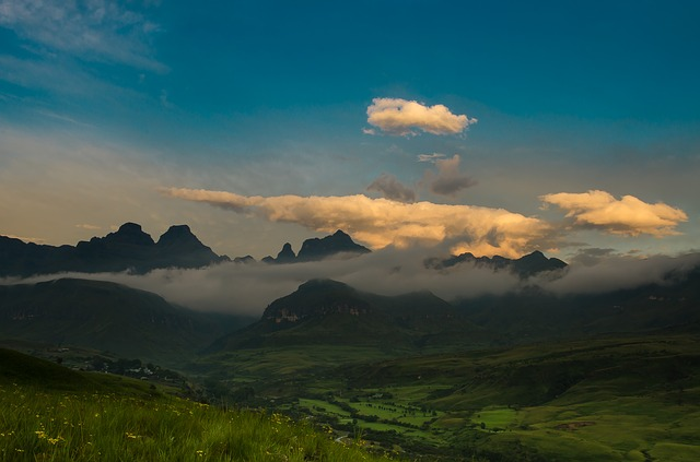 South Africa, Drakensberg, Views