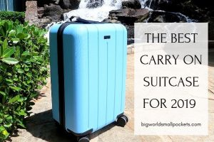 The Best Carry On Suitcase for 2019