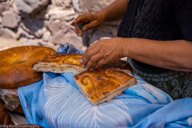 Armenia, Geghard, Cakes