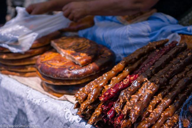 Armenia, Geghard, Food