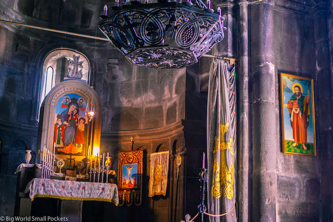 Armenia, Geghard, Inside Monastery