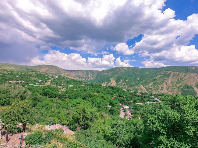Armenia, Geghard, Views