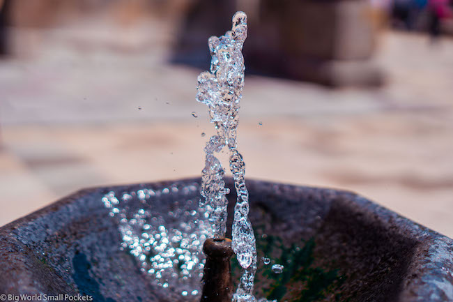 Armenia, Geghard, Water Fountain