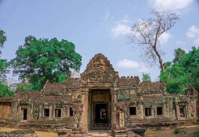Cambodia, Angkor, Temple Facade
