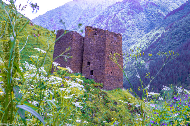 Georgia, Tusheti, Tower