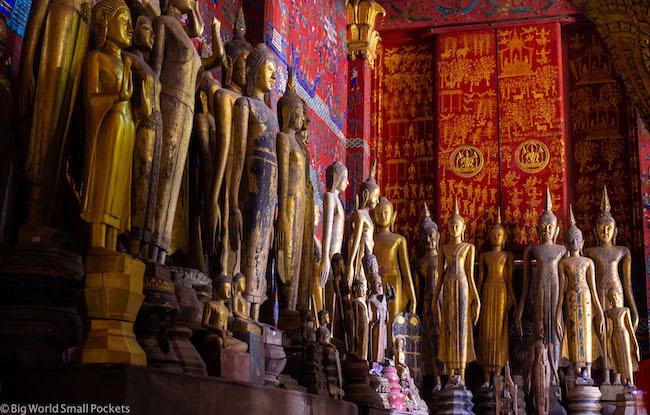 Laos, Luang Prabang, Statues