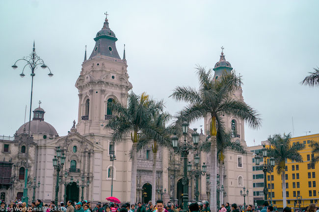 Lima, Peru, Plaza Mayor