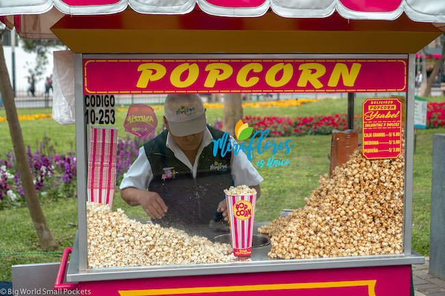 Lima, Peru, Popcorn