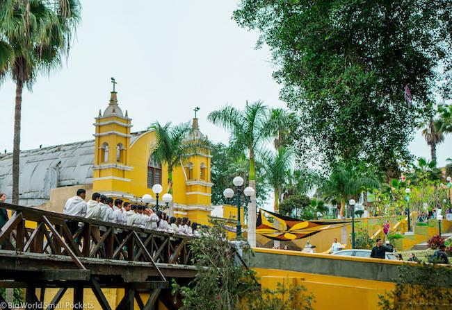Peru, Barranco, Bridge