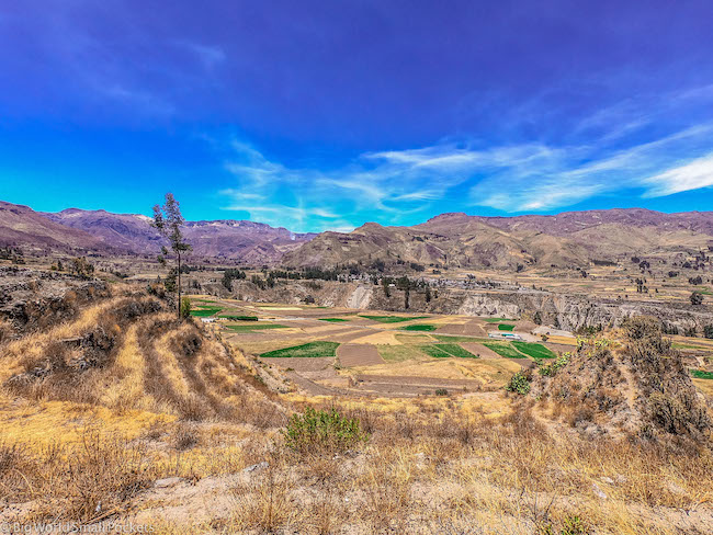 Peru, Colca Canyon, View
