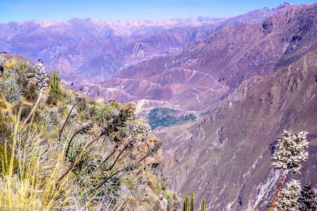 Peru, Colca Canyon, Views