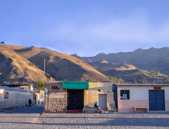 Peru, Colca Canyon, Yanque