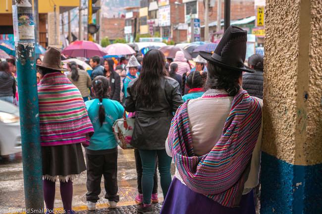 Peru, Huaraz, Local People