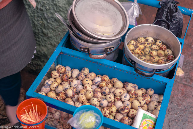 Peru, Huaraz, Street Food