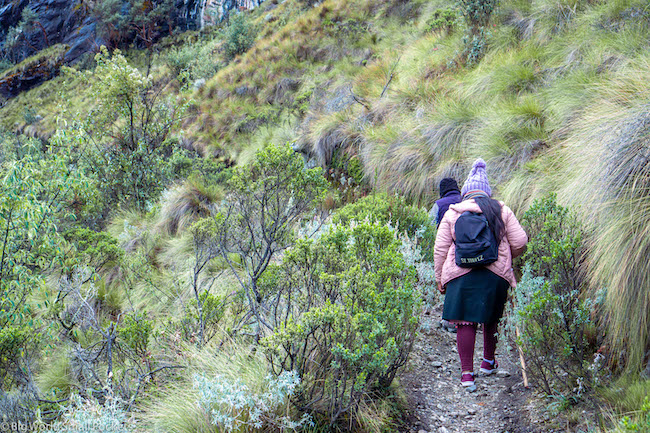 Peru, Huascaran National Park, Hiking
