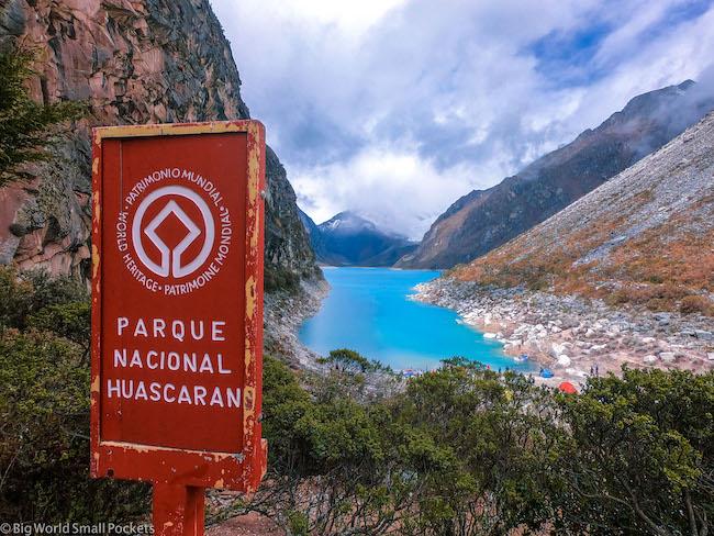 Peru, Huascaran National Park, Laguna Peron