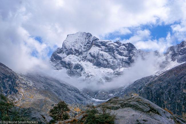Peru, Huascaran National Park, Mountains