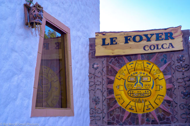 Peru, Yanque, Le Foyer Colca