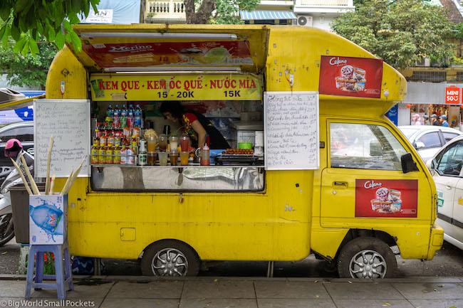 Vietnam, Hanoi, Food Truck