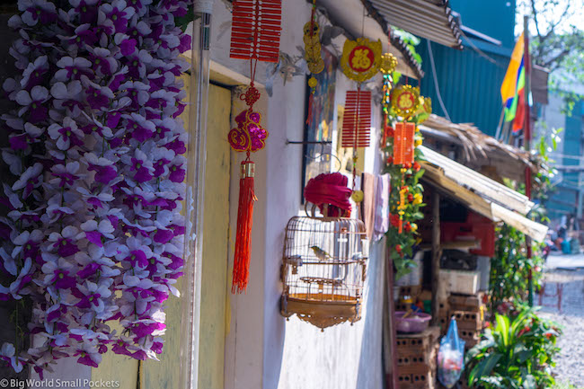 Vietnam, House, Birdcage