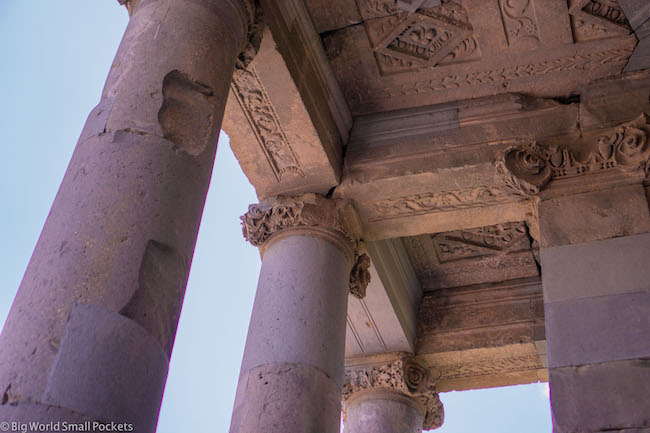 Armenia, Garni, Pillars