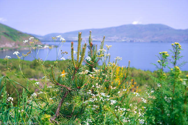Armenia, Lake Sevan, View